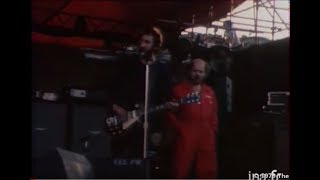 The Who in sound check at the Arena of Frejus 12 May 1979