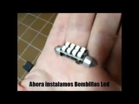 Bombilla led de Coche para Matricula, Posicion, Maletero, Interior