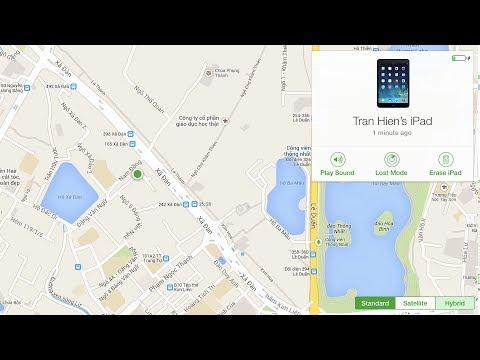 Cách tìm lại iPhone bị mất với chức năng Find My iPhone