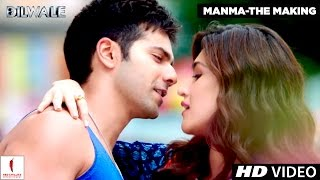 Making of Manma Emotion Jaage | Kriti Sanon, Varun Dhawan | Dilwale | A Rohit Shetty Film
