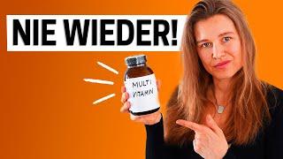 Das Problem mit Multivitamin-Pillen (Das wusste ich nicht)