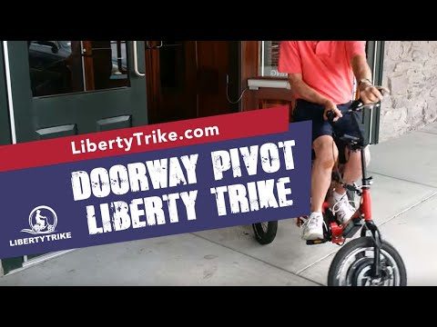 Turning capability of Liberty Trike Bike