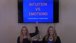 Intuition vs Emotion