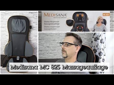 Medisana MC 825 Massageauflage | Shiatsu- und Akupressur-Massage mit Wärmefunktion