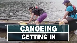 How to Get Into and Out of a Canoe Smoothly and Safely
