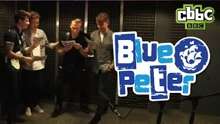 Rixton Interview In 60 Seconds   CBBC Blue Peter