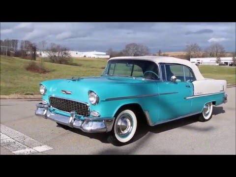 Video of '55 Chevrolet Bel Air - $72,995.00 Offered by Smoky Mountain Traders - GHL6