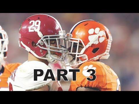 Alabama Crimson Tide - Clemson Tigers / 2015, 16, 17