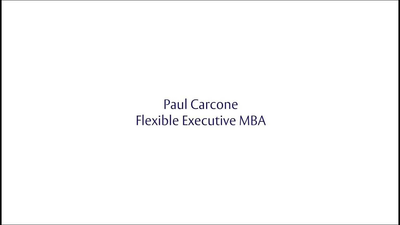 Henley Challenge 2015 - Paul Carcone, Flexible Executive MBA