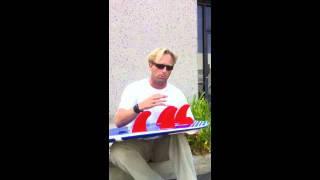 "Sean Mattison explains 5-fin set up ... ""Nubster"""