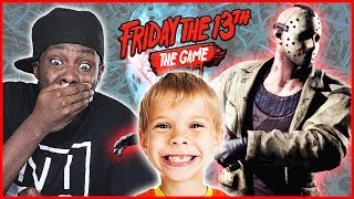 POTTY MOUTH CRAP TALKING LITTLE BOY! - Friday The 13th Gameplay Ep.25