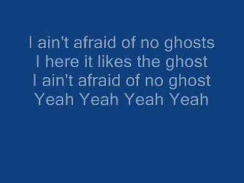 Ghostbusters with lyrics