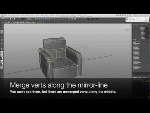 Maya Modelling Tutorial: Medium-Soft Objects