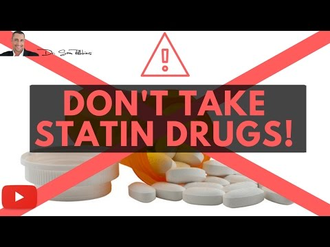 ↓ 5 Important & Clinically Proven Reasons You Should NOT Take Statin Drugs - by Dr Sam Robbins
