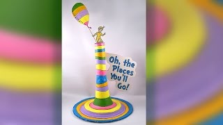 DIY Oh, The Places Youll Go Centerpiece - Dr. Seuss
