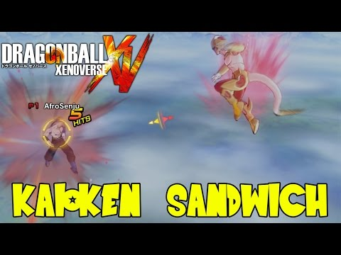 Dragon Ball Xenoverse: The Angry Shout Double Kaioken x20 Super Sandwich of Doom