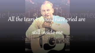 Vern Gosdin Someone I can Turn To Video