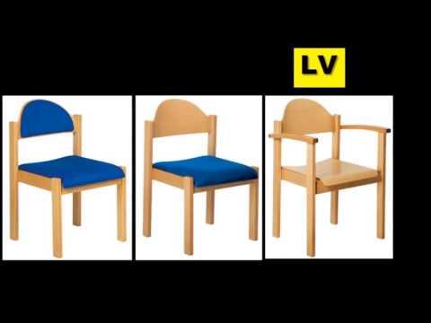 Videos Schulmöbel,Bürostuhl,Hallenstuhl,Konferenzstuhl