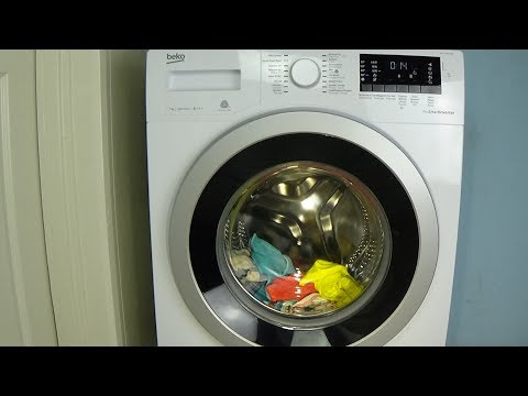 BEKO WMY 71483 LMB2 Washing machine - Xpress Super Short program- lavadora movie #116