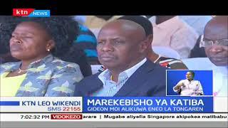 Marekebisho ya Katiba: Gideon Moi aunga mkono mabadiliko ya katiba, ikiwemo salamu za kheri