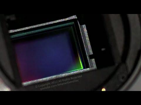 0 Lobturateur dun EOS 60D en slow motion