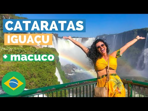 CATARATAS FOZ DO IGUAÇU 2021 + MACUCO