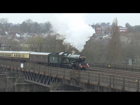 GWR 5043 'Earl of Mount Edgcumbe' with 'The Red Dragon' 11th…