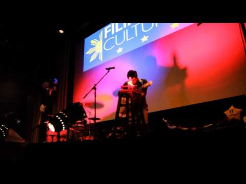 Filipino Cultural Night at CWU 2013 - (Live) Night Lights by Jazz Espiritu