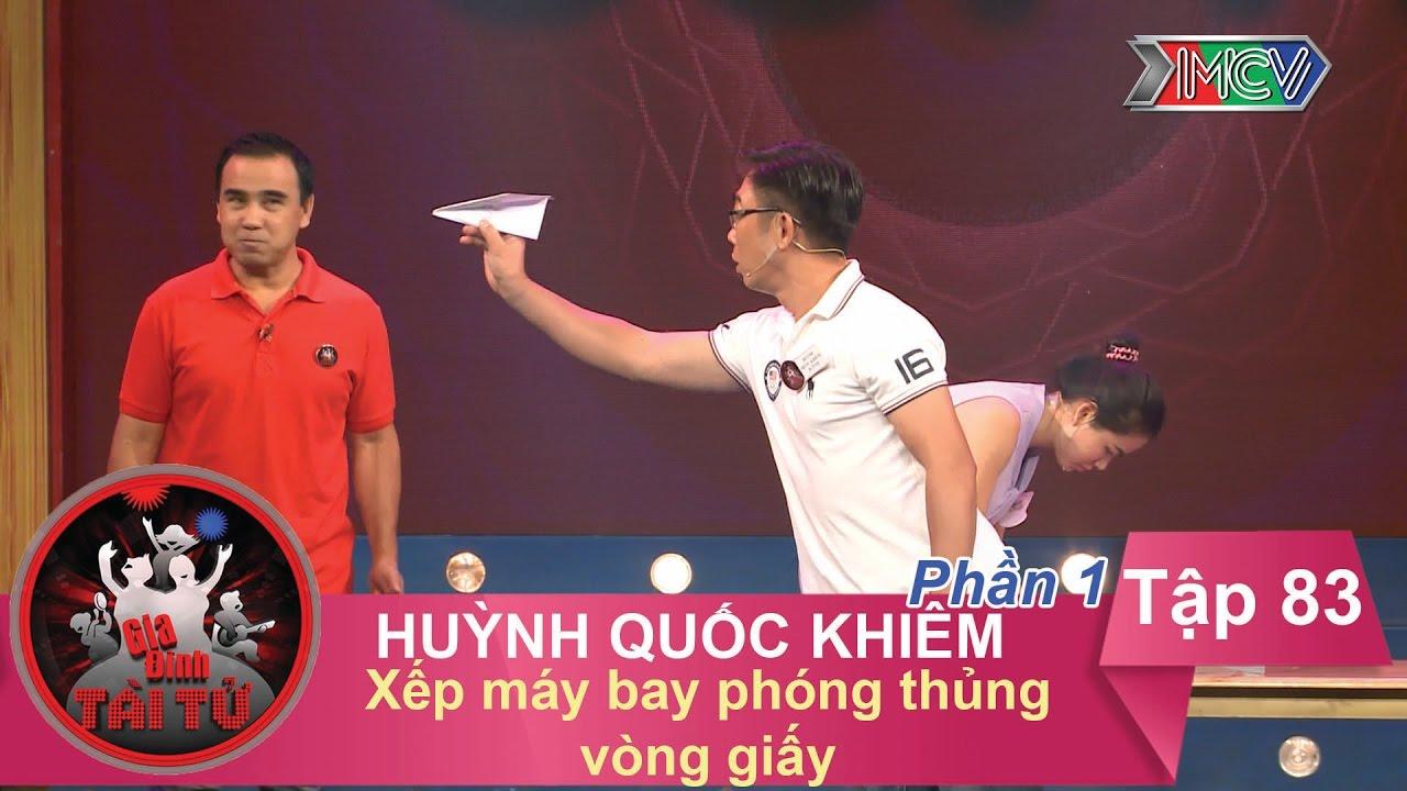 Xếp máy bay phóng thủng vòng giấy - GĐ anh Huỳnh Quốc Khiêm | GĐTT #83 | 280417
