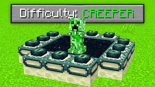 Minecraft But CREEPERS BEAT The Game For YOU!
