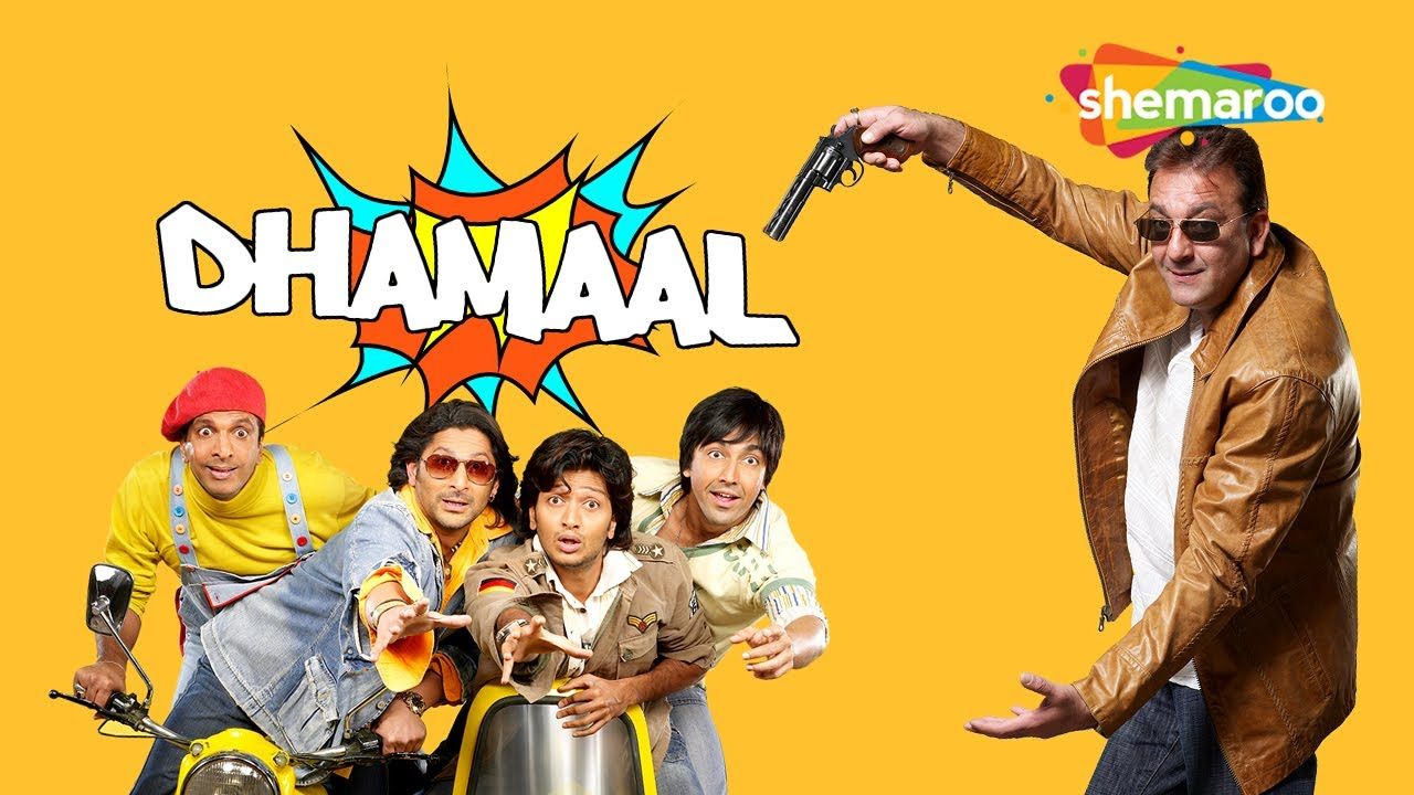 Watch Evergreen Comedy Movie Dhamaal Online For Free