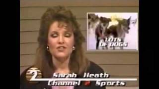 Sarah Palin on Glen Rice (Sports Report from 1987)