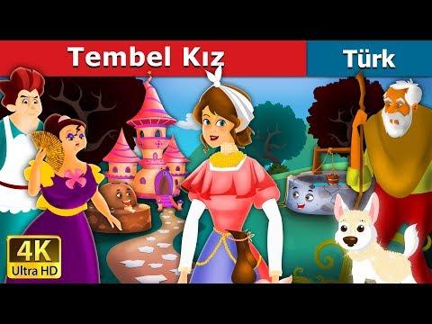 Tembel Kız   Masal dinle   Türkçe peri masallar