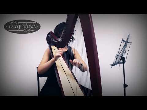 Camac Celtic Isolde 38 String Harp