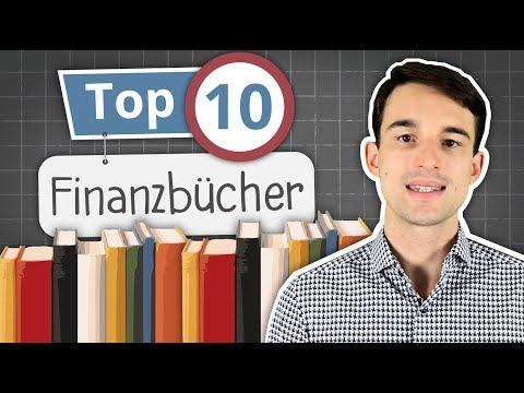 TOP 10 Bücher zum Thema Aktien, Börse, ETF, Immobilien für Anfänger   Finanzbücher für Einsteiger