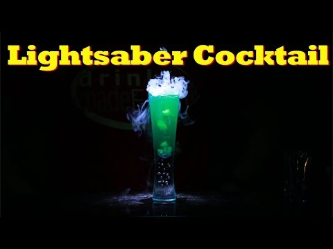 How To Make A Lightsaber Cocktail | Drinks Made Easy