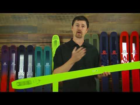 Salomon QST 85 Skis - Men's