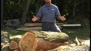 Woodworking DIY Tips Cutting Lumber From Logs