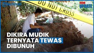 Tukang Kredit di Sukabumi Dibunuh, Warga Mengira Mudik Setahun hingga Temukan Tulang Belulang