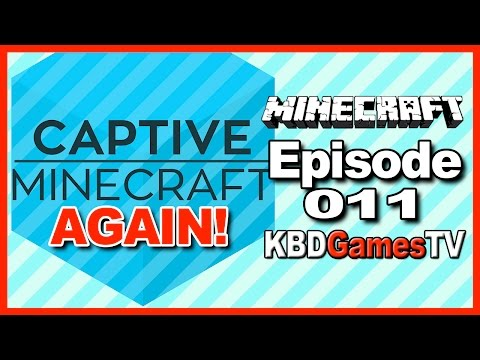Captive Minecraft AGAIN Ep 011 – Underground Fishing Pond, Enchantment Table