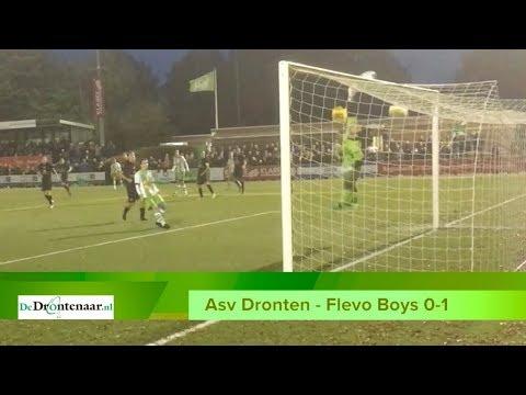 VIDEO   Asv Dronten lijdt zure nederlaag tegen koploper door goal in 88ste minuut