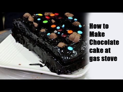 Video How to make Chocolate Cake at Gas Stove