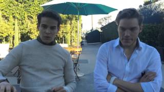 Fun With Shadowhunters Alberto Rosende and Dominic Sherwood