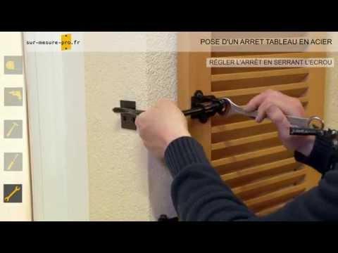Pose d'un arret tableau par sur-mesure-pro.fr