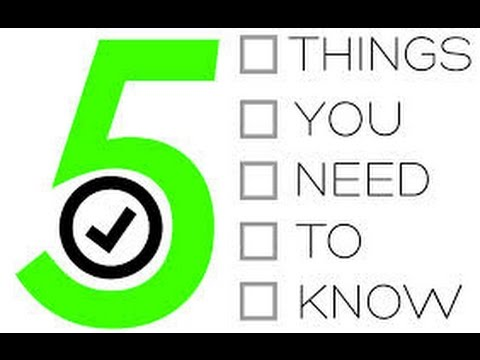 , title : '5 Things You NEED To Know Before You Start A Lawn Care Business!!