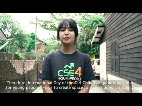 Myanmar Youth Voices on the International Day of the Girl Child