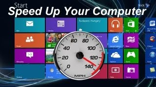 How to Speed up your Computer Windows 8 - Free & Easy