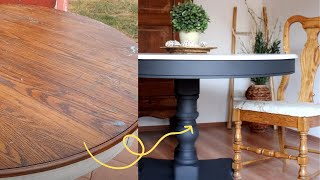 What to paint dining table