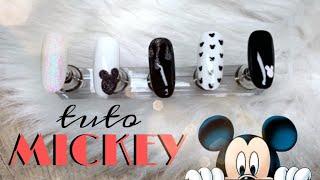TUTO DISNEY NAILS ⎥ Pour Les Fans De Mickey ! ❤️
