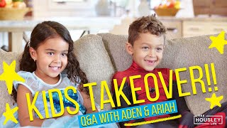Kids Q&A with Aden & Ariah! 🤣